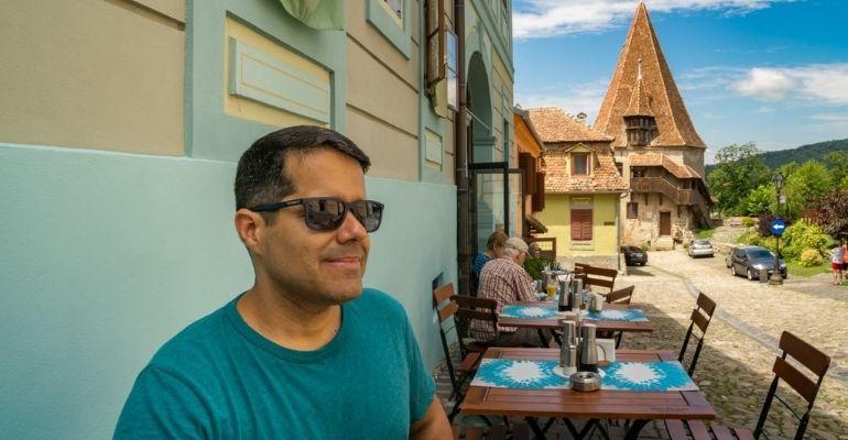 Vinícius Teles, Artigo Blog, como ser nômade digital em Sighisoara Citadel na Romênia